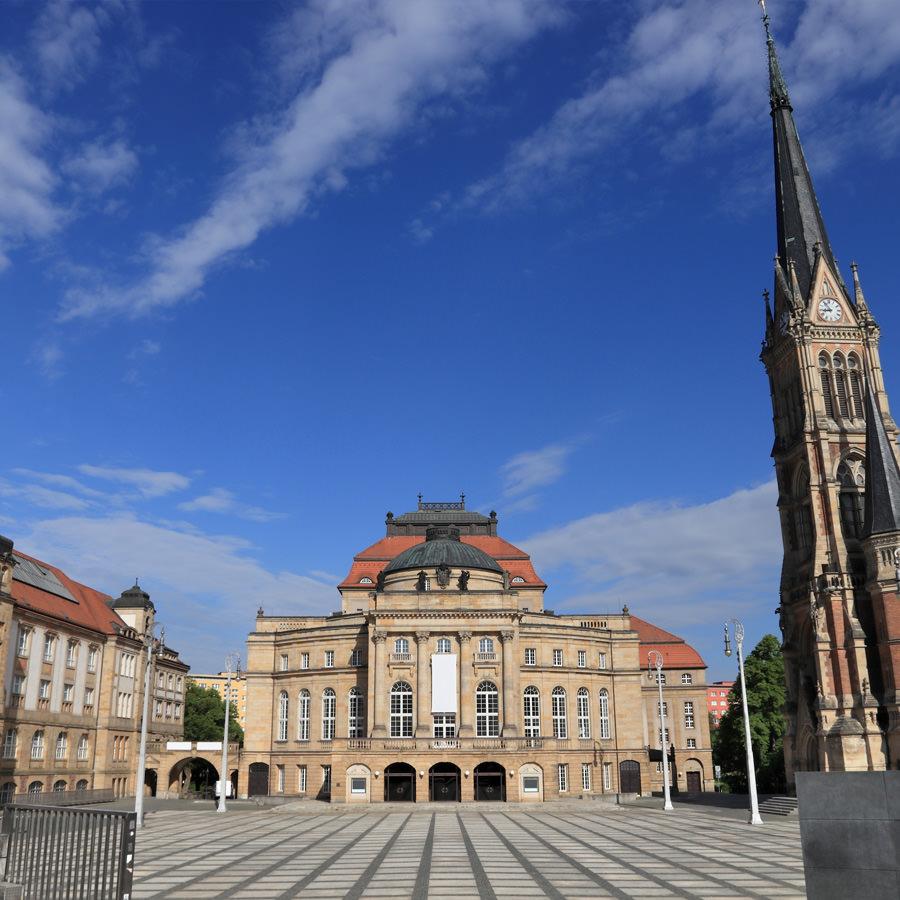 AvJS Personalvermittlung – Chemnitz Kirche Schloss
