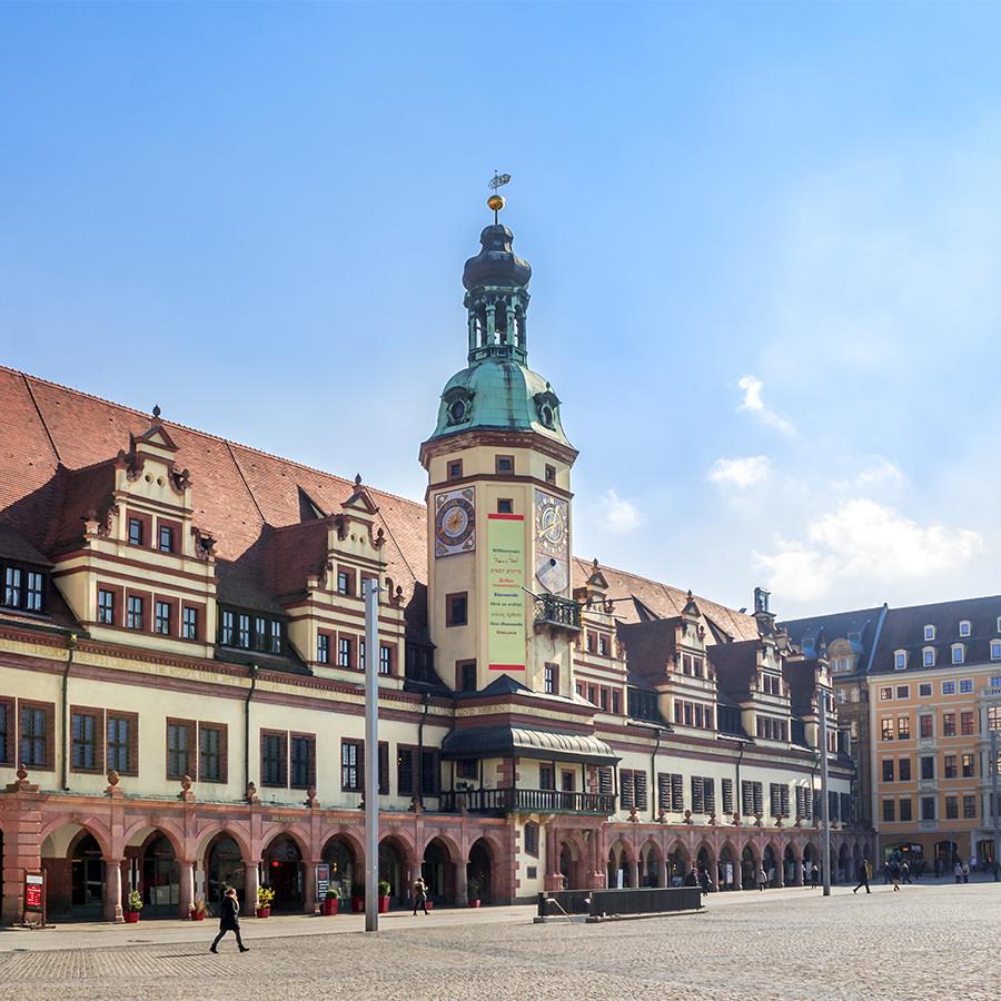AvJS Personalvermittlung – Leipzig historisches Gebäude