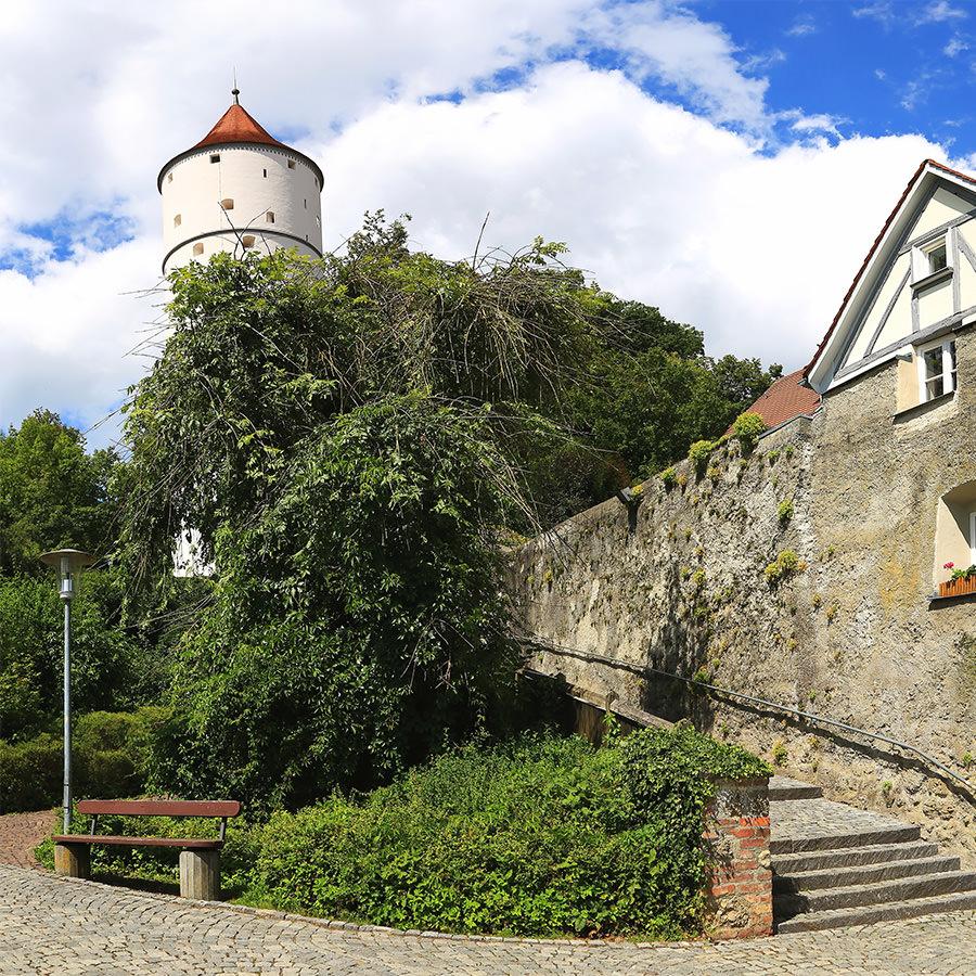 AvJS Sauter Personaldienstleister – Biberach an der Riß Burg-Aufgang zum Turm